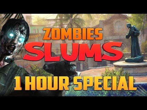 Black Ops 2 Zombie Slums ★ Call of Duty Zombies Mod (Zombie Games)
