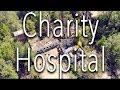Abandoned Hospital Laurel, MS 4K - Drone footage