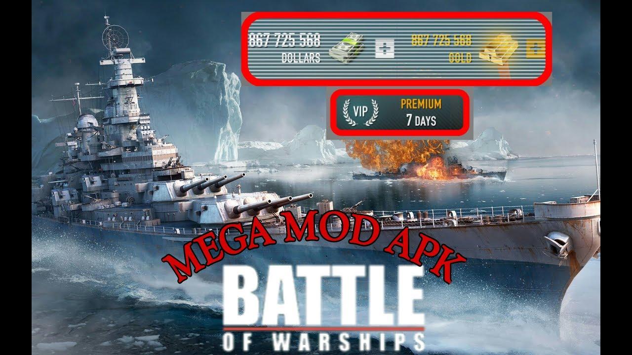 battle of warships mod apk 1.67.8