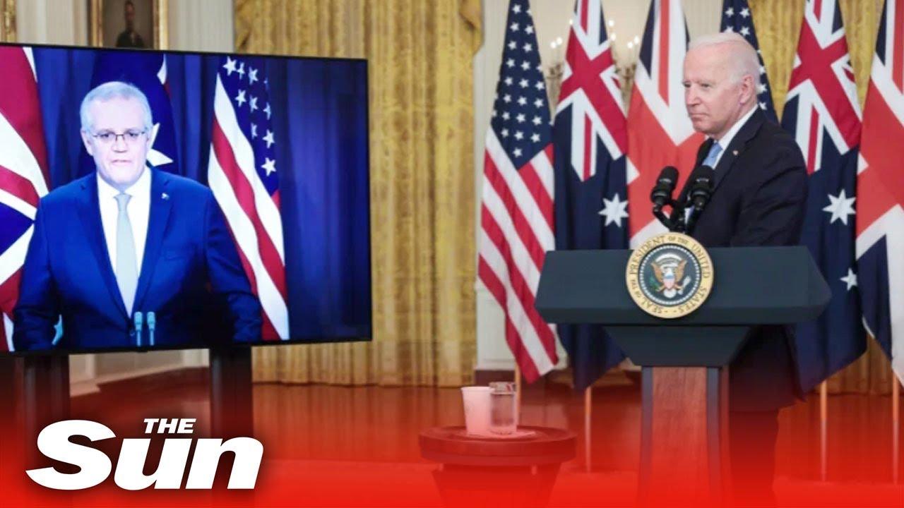 Joe Biden 'FORGETS' Australian PM's name & calls him the 'Fellow Down Under' in latest gaffe
