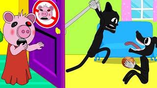 Cartoon Cat, Cartoon Dog, Piggy With Chestnut  Roblox Piggy Animation   GV Studio