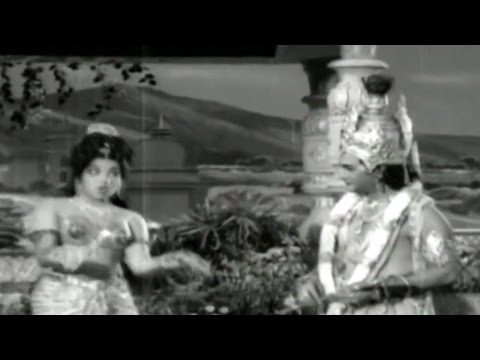Sri Krishna Vijayam || Pillana Grovi Pilupu Video Song || NTR, Jayalalitha
