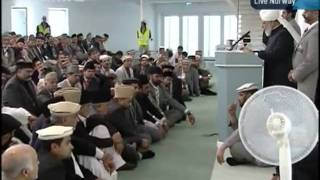 KHUTBA JUMA FROM NORWAY NEW MOSQUE 30-9-2011 PERSENTING KHALID QADIANI_clip5.flv
