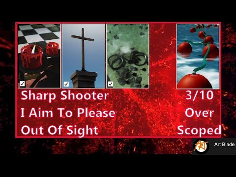 Hitman 2 - Master Sniper Part 1 - Sharp Shooter, I Aim To Please, Out Of Sight (Sapienza Contract)