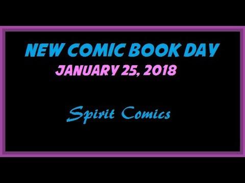 New Comic Book Day (1/25/2018) SPIRIT COMICS