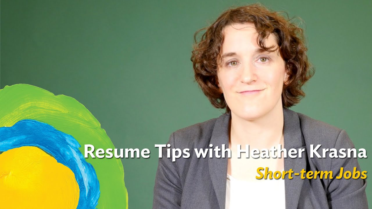 What should you do to your resume if your jobs are short-term ...