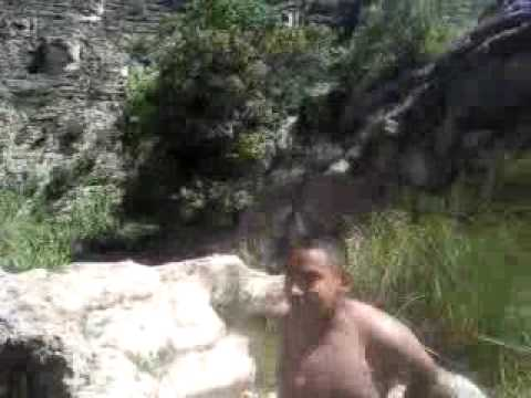 Summer Vacation Sitting Bull Falls NM