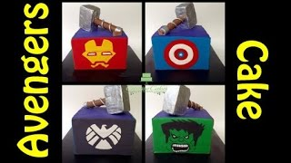 Avengers Cake How To Make From Creative Cakes By Sharon