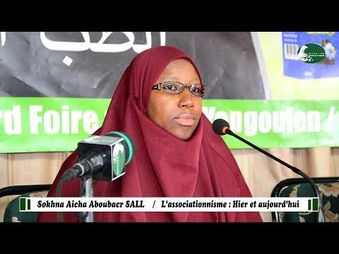 Journée  MOUR SAY THIEUR | THÈME 1 :  L'associationnisme (chirk) : hier et aujourd'hui  Aicha A SALL