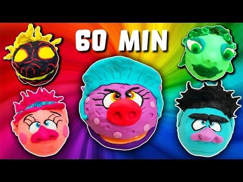 Play-Doh Drill N Fill Compilation Hour Long (60 Min)! Trolls, Poppy, Moana, Bergen Chef, Ursula!