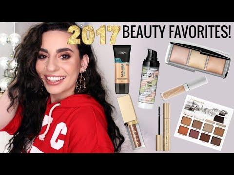 2017 Beauty Favorites!