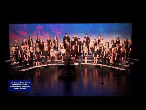 2012 Lake Denoon Middle School Winter Concert - Musica Est Dei