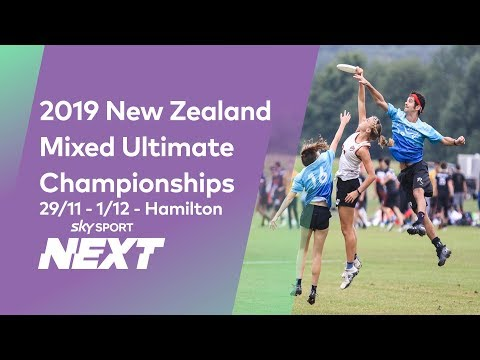 NZ Ultimate Frisbee Championships | Space Invaders (Auckland) Vs Squall (Wellington)