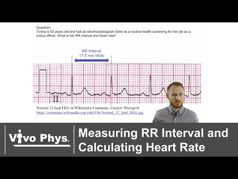 Measuring RR Interval and Calculating Heart Rate