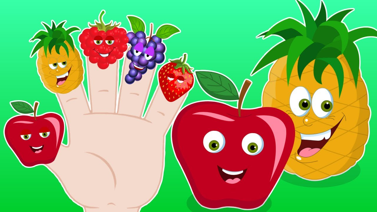 Fruits Finger Family Song Nursery Rhymes