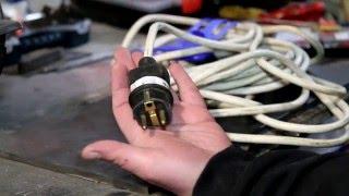 В помощь застройщику - каким должен быть удлинитель и его фурнитура.(В данном видео предоставлены рекомендации в отношении выбора кабеля, сечения и количества проводов для..., 2015-12-30T20:42:34.000Z)