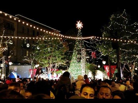 Santana Row Christmas Tree 2020 The Annual Tree Lighting Ceremony at Santana Row (November 18