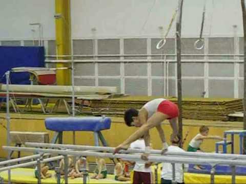 Kid's gymnastics competition  - acrobat version