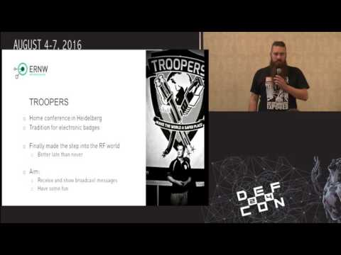DEF CON 24 Wireless Village - Brian Butterly and Stefan Kiese - Introducing the HackMeRF