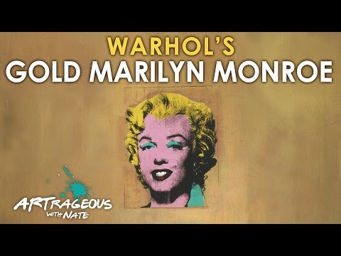 Andy Warhol's Gold Marilyn Monroe