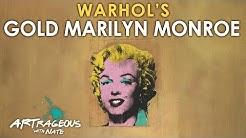 Andy Warhol's Gold Marilyn Monroe