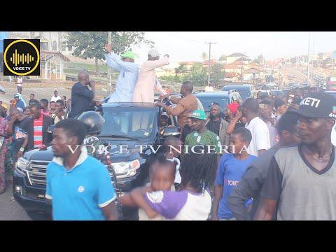 Jubilation As INEC Declares, Gov. Akeredolu Winner Of Ondo 2020 Governorship Election