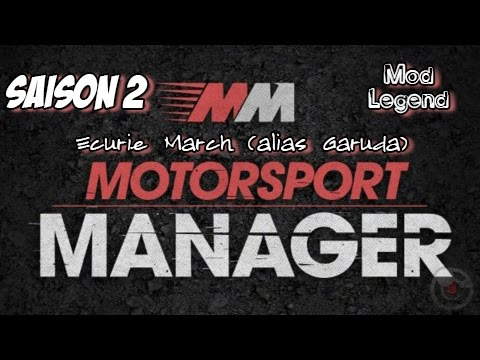Ep#24 - Motorsport Manager - S02 GP03 : Doha C - 2ème Podium!!!