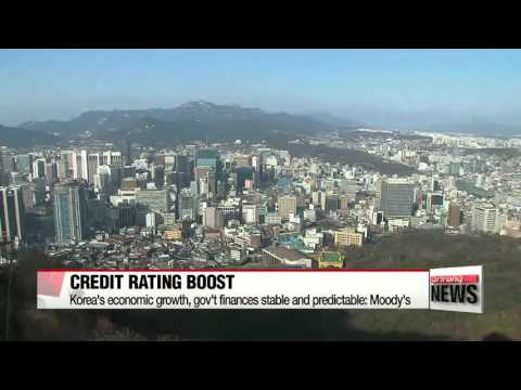 Moody′s upgrades Korea′s credit rating to all-time high of Aa2