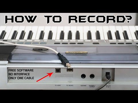 How to record keyboard/synthesizers of Yamaha/Casio in Studio Quality|FL Studio|PSR I 455《No Mic》