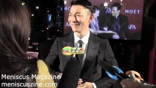 Andy Lau (劉德華) - 7th Asian Film Awards red carpet - Meniscus Magazine
