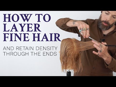 How to Layer Fine Hair Tutorial