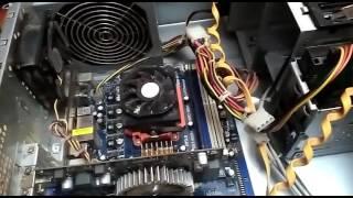 видео Компьютер включается и сразу выключается, что делать?