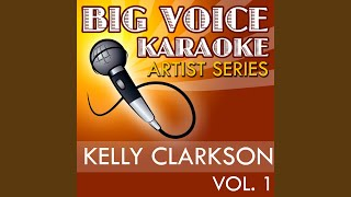 Walk Away (In the Style of Kelly Clarkson) (Karaoke Version)