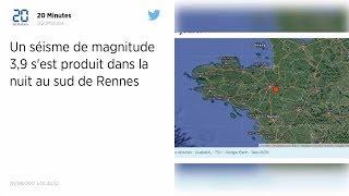 Un séisme de magnitude 3,9 a été ressenti à Rennes