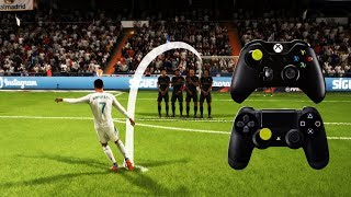 FIFA 18 FREE KICK TUTORIAL | Xbox & Playstation | HD 1080p