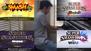 ALL Super Smash Brothers INTROS for Piano + Cinematics