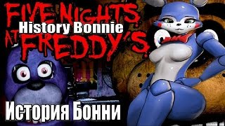 History Bonnie Five Nights at Freddy s История Бонни 5 ночей с фредди