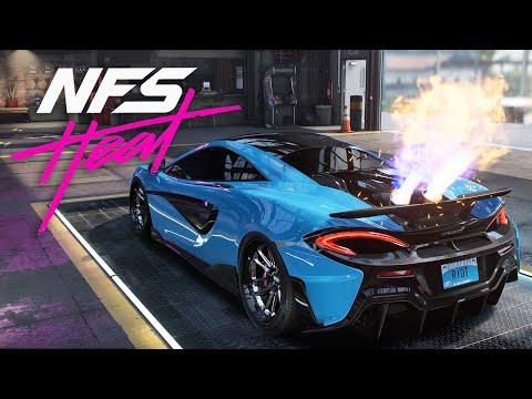 THOSE FLAMES !!! McLaren 600LT BUILD  - NEED FOR SPEED HEAT Gameplay Walkthrough Part 25