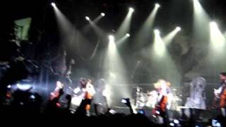 Apocalyptica - Somwhere Around Nothing (Live 2008, Moscow, Russia)