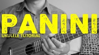 Panini - Lil Nas X (Ukulele Tutorial) - Chords - How To Play