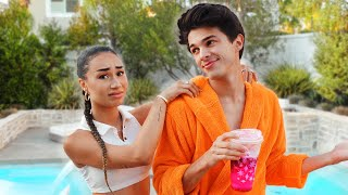 BEING MY EX BOYFRIENDS ASSISTANT FOR A DAY | MyLifeAsEva w Brent Rivera