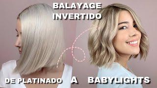 DIY DE RUBIO A BALAYAGE   babylights
