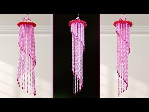DIY Pearl Wind Chime || Home Decor Idea || DIY Handmade Things