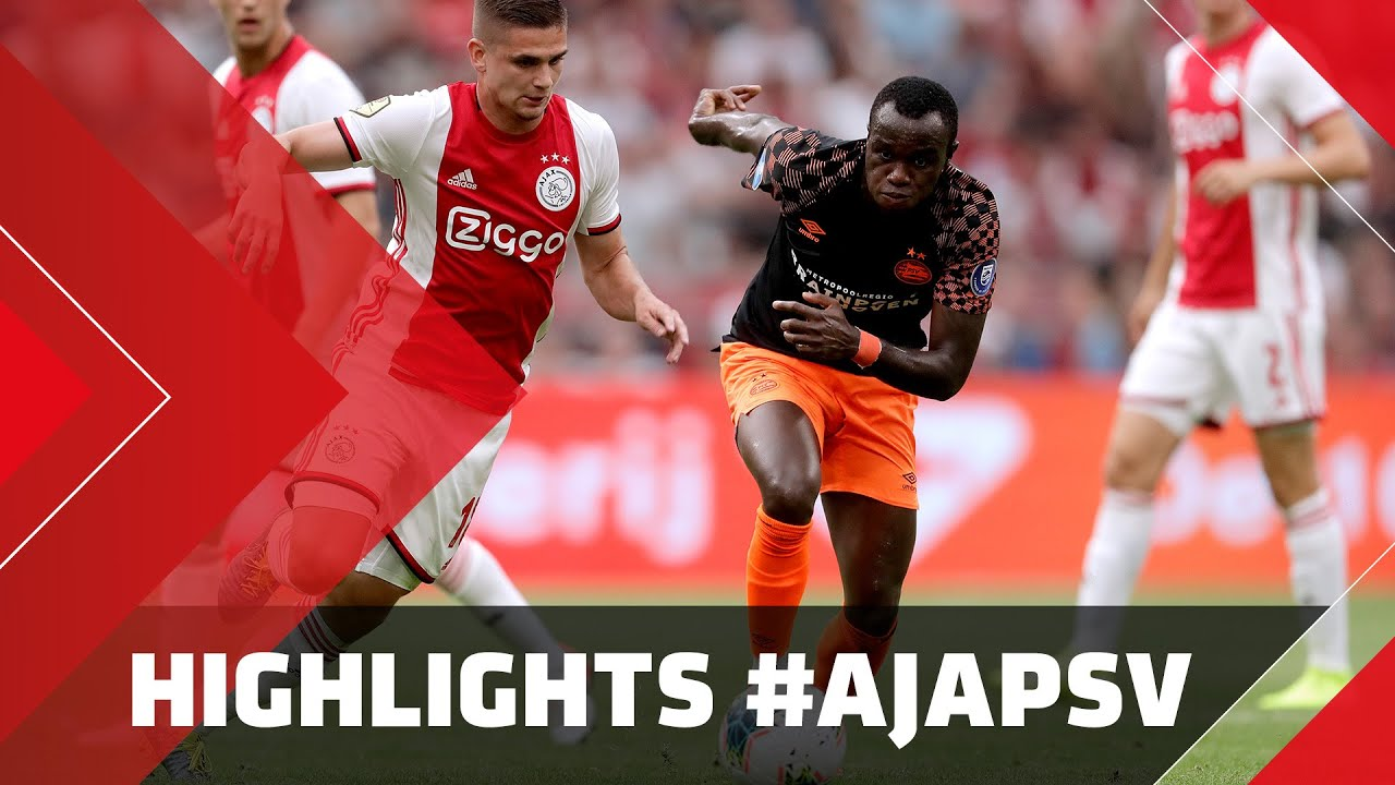 Highlights Ajax Psv Youtube