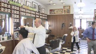 "It's a ""G"" Thing: A cut above the rest at Paul Mole's, NYC's oldest barber shop"