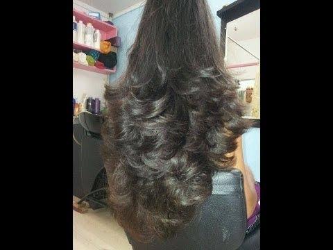 Step Cut On Dummy Hair Cut Tutorial3 Youtube