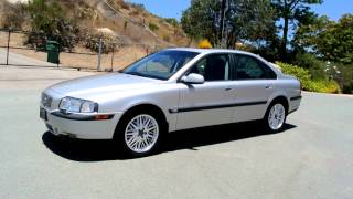 2001 Volvo S80 T6 Executive 1 OWNER Twin Charged V6 16K Original Miles