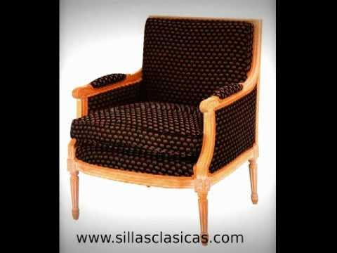 Sillas de comedor cl sicas youtube for Sillas de diseno clasicas