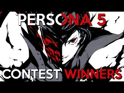 Persona 5 Art Contest Winners!