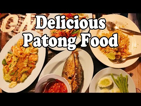 Patong Food: Delicious Local Food And Great Views In Patong. Phuket Restaurants: Krua Chom View